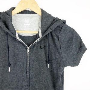 Nike Tops - NIKE Short Sleeve Hoodie